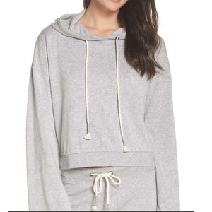 NWT gray sweatshirt hoodie size small.